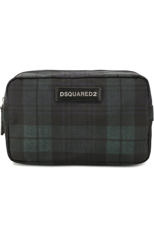 Текстильный несессер в клетку Dsquared2 W16BY1003/618