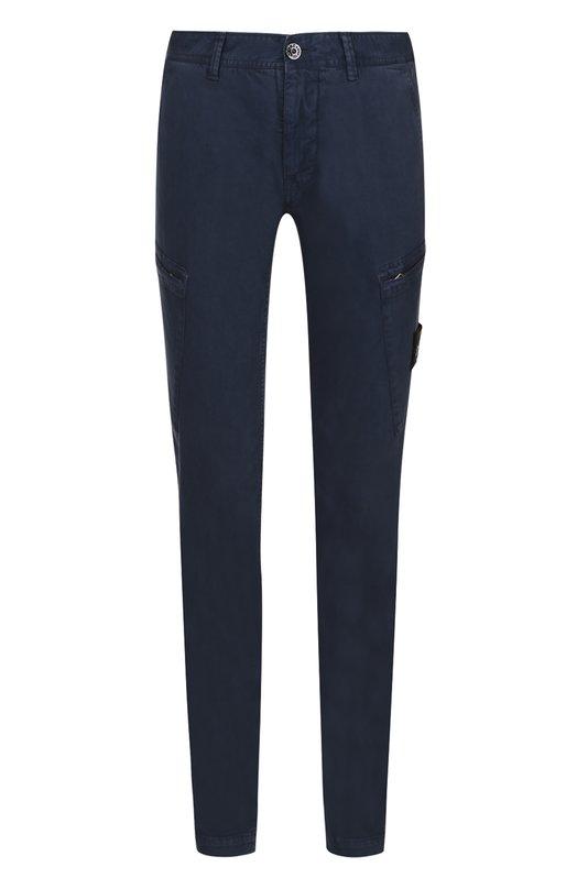 Хлопковые брюки карго Stone Island 661531104