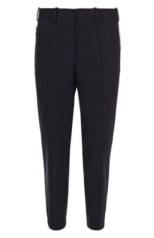 Шерстяные брюки с заниженной линией шага Neil Barrett PBPA365/E019