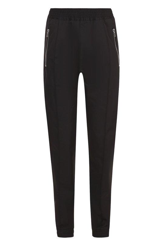 Хлопковые брюки с заниженной линией шага и поясом на резнике Givenchy 17S/5404/023