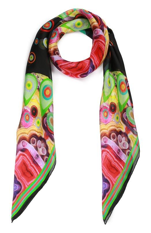 Шелковый платок с принтом Givenchy GW1414/SD132