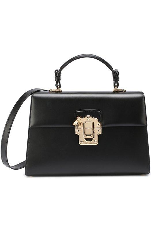 Купить Сумка Lucia Dolce & Gabbana, 0116/BB6295/AC907, Италия, Черный, Кожа натуральная: 100%;