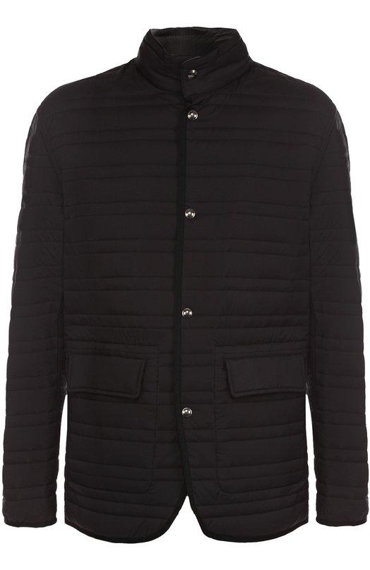 Двусторонняя куртка с воротником-стойкой Z Zegna VM014ZZ129