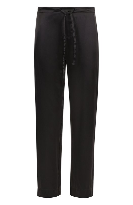 Шелковые домашние брюки с поясом на резинке Zimmerli ZN/27