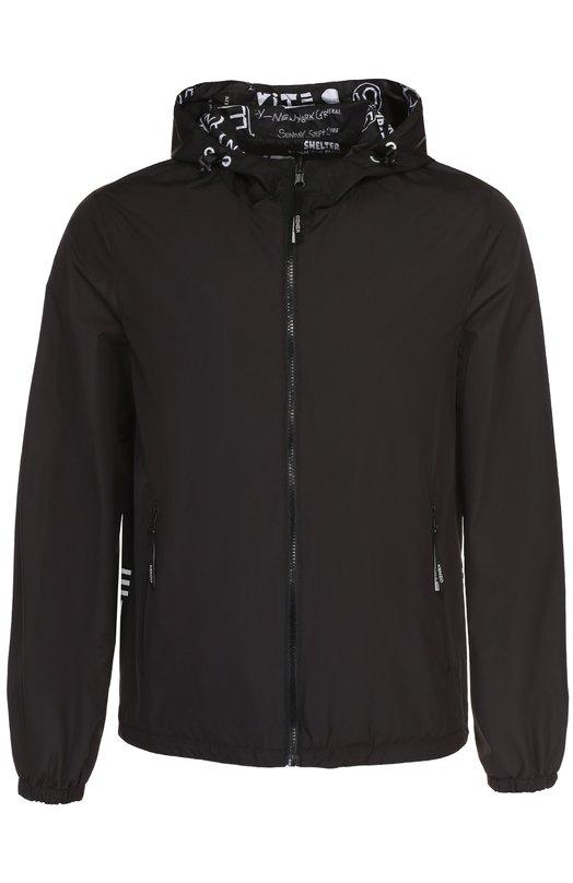 Двусторонняя куртка на молнии с капюшоном Kenzo F755BL1511NG