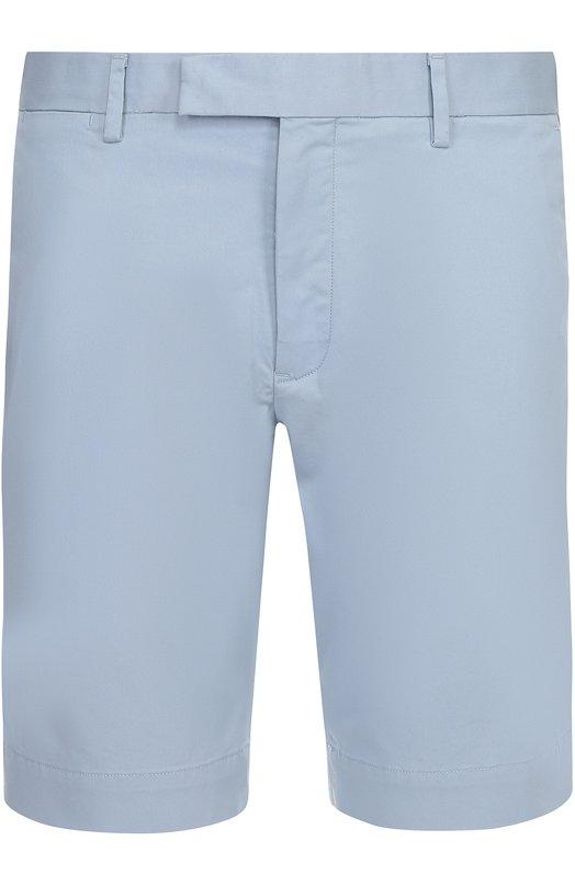 Хлопковые бермуды с карманами Polo Ralph Lauren A22/HS044/CR362