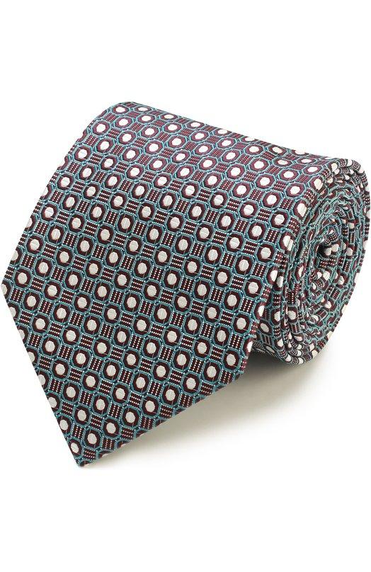 Купить Шелковый галстук с узором Ermenegildo Zegna Италия 5149765 Z9E611XW