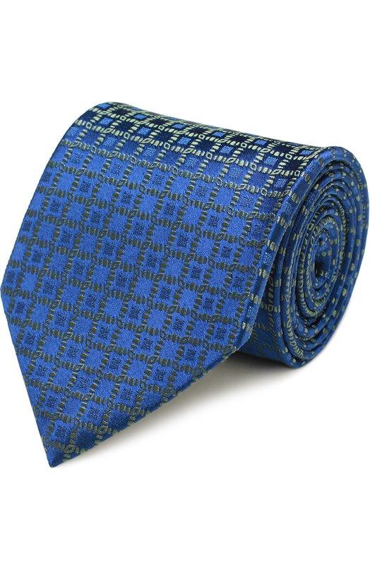 Купить Шелковый галстук с узором Charvet Франция 5151555 18233