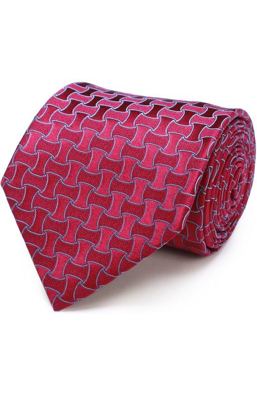 Купить Шелковый галстук с узором Charvet Франция 5151562 18266