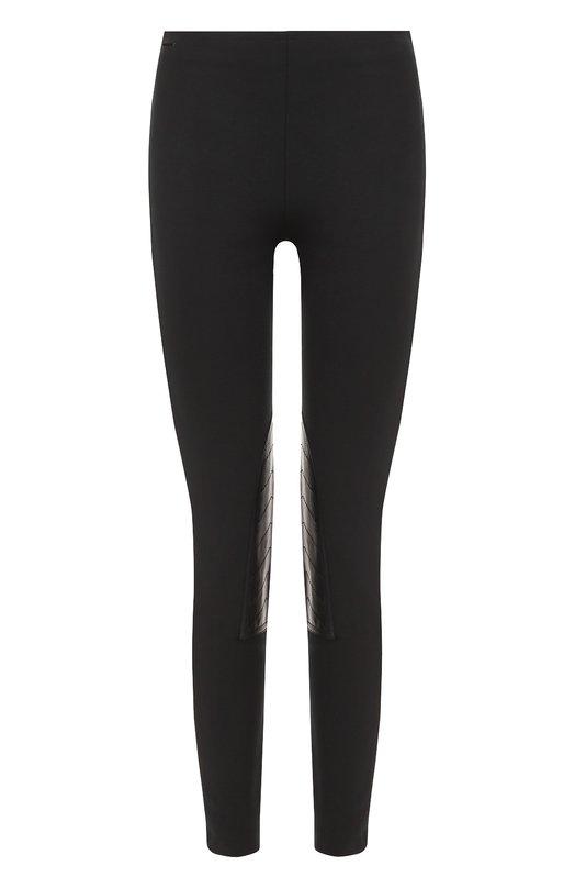 Укороченные брюки-скинни с кожаной отделкой Polo Ralph Lauren V38/XZ8QH/XY6RP