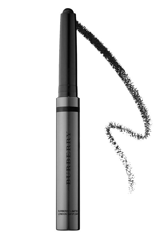 Купить Кремовый карандаш-тени для век, оттенок 128 Jet Black Burberry Англия HE00365657 5045495634960