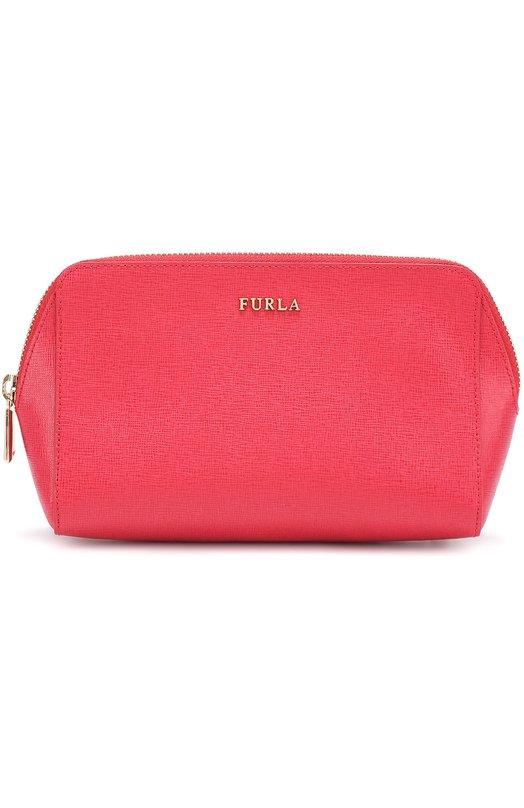 Купить Набор косметичек из тисненой сафьяновой кожи Electra Furla, EL95, Китай, Разноцветный, Кожа натуральная: 100%;