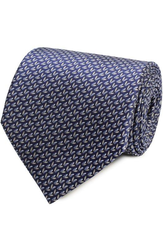Комплект из шелкового галстука и платка Lanvin 4390/TIE SET