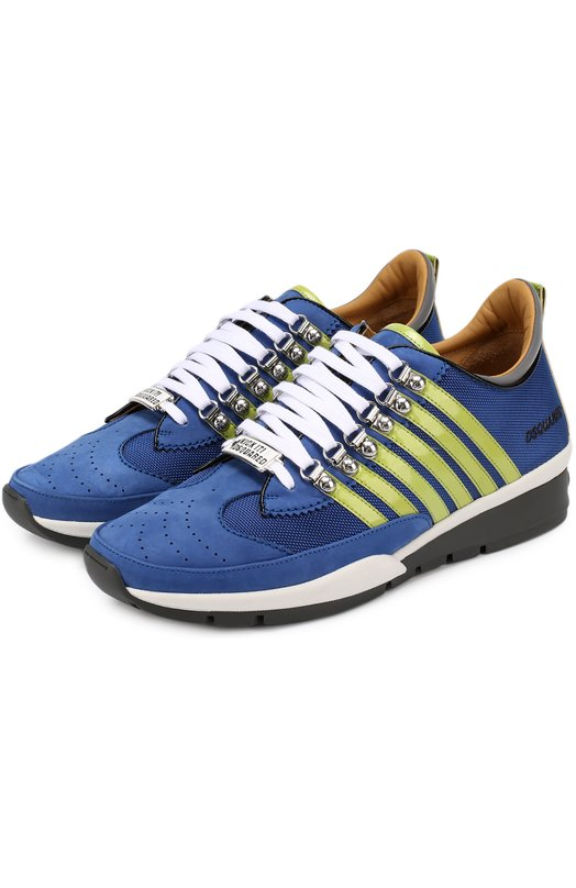 Комбинированные кроссовки 251 на шнуровке Dsquared2 S17SN101/1294