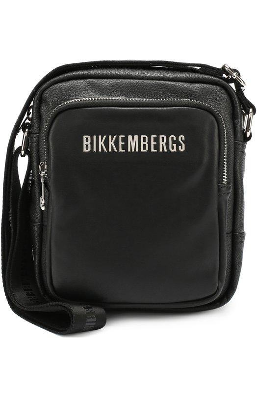 Сумка-планшет с внешним карманом на молнии Dirk Bikkembergs 7A/D6604