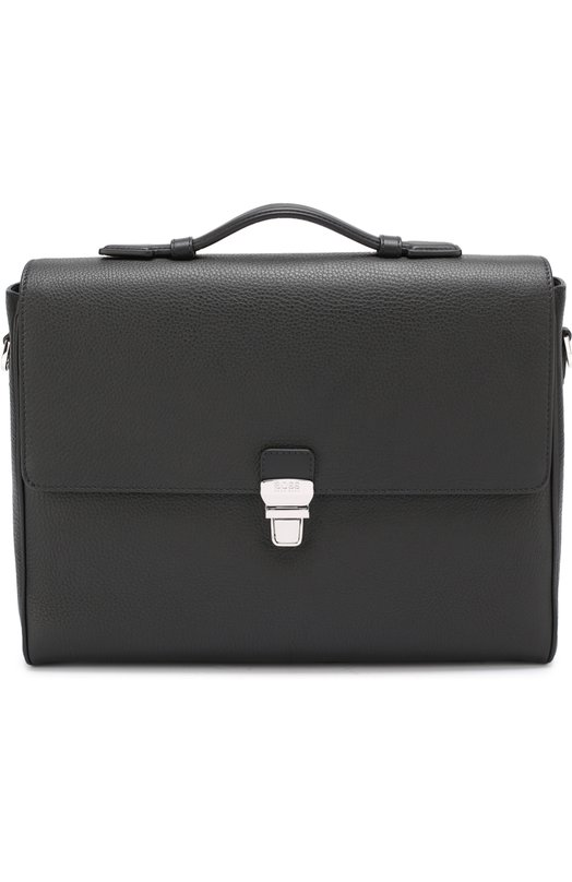Кожаный портфель с плечевым ремнем BOSS 50322119