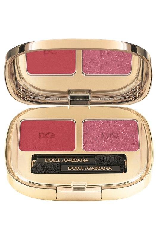 Купить Тени для век Duo, оттенок 135 Tropical Coral Dolce & Gabbana, 730870275672, Италия, Бесцветный