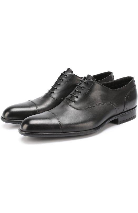 Классические кожаные оксфорды HUGO 50332185