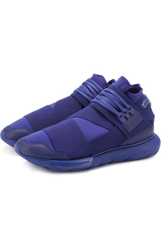 Комбинированные кроссовки Quasa эластичными лентами Y-3 S82124