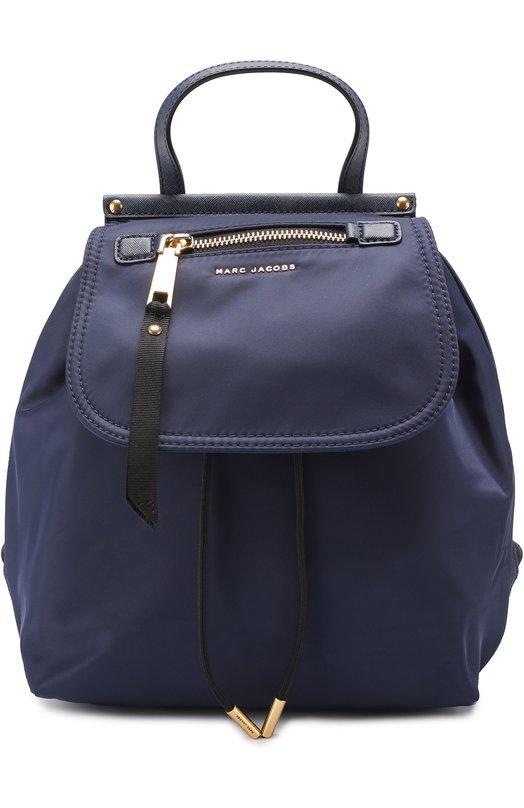 Купить Текстильный рюкзак Trooper Marc Jacobs, M0010051, Вьетнам, Темно-синий, Текстиль: 100%;