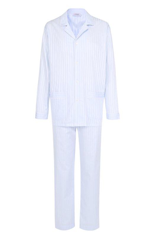 Хлопковая пижама Zimmerli 4682/75010