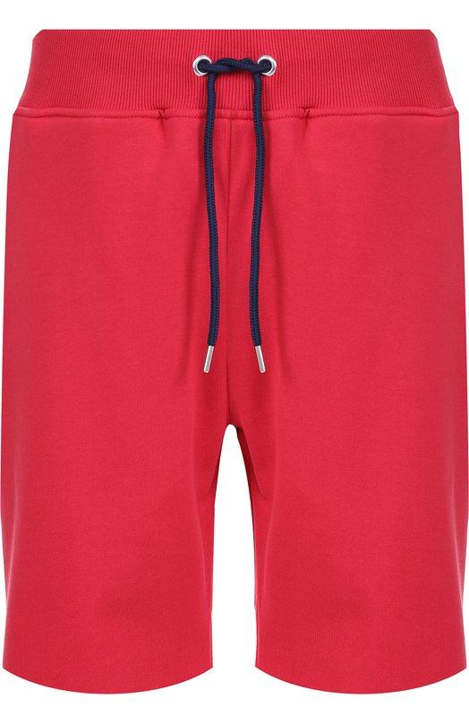 Хлопковые шорты свободного кроя Frankie Morello FMCP7060PA