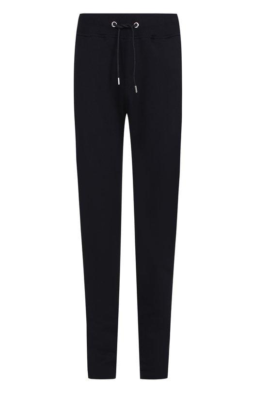 Хлопковые брюки прямого кроя с поясом на резинке Frankie Morello FMCP7021PA