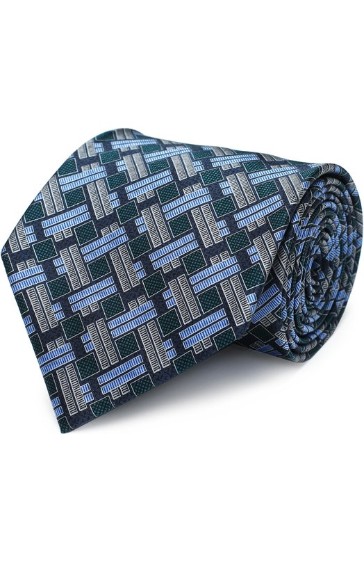 Купить Шелковый галстук с узором Brioni Италия 5152770 062I/P6419