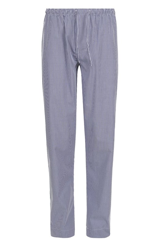 Хлопковые домашние брюки свободного кроя Zimmerli 4674/75180