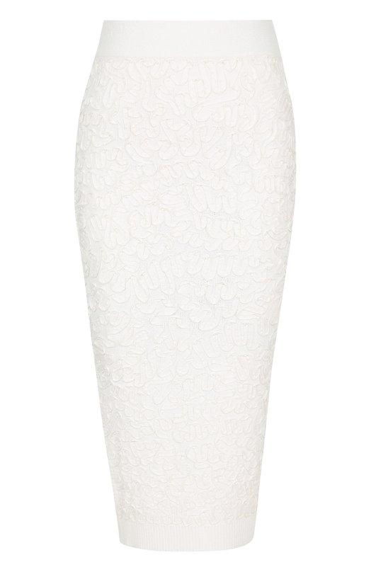 Вязаная юбка-карандаш с фактурной отделкой Michael Kors KDI/626RKI904