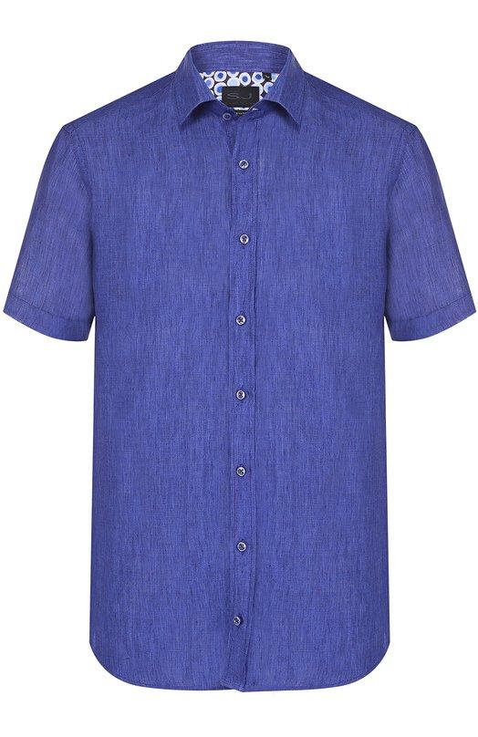 Льняная рубашка с короткими рукавами Sand 8823/SIM0N SS