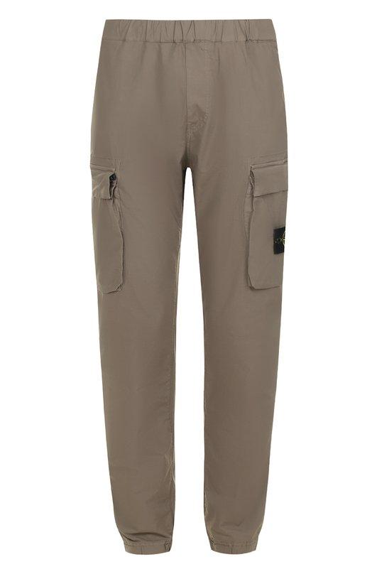 Хлопковые брюки-карго Stone Island 661530703