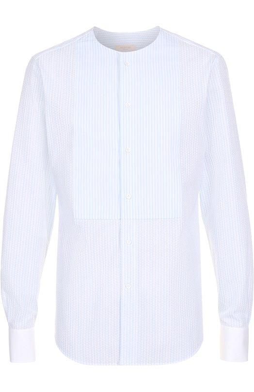 Хлопковая рубашка с декоративной отделкой Valentino MV0AB7B3/365