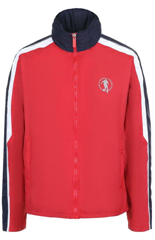 Куртка на молнии с воротником-стойкой Dirk Bikkembergs CH02CH2TB193