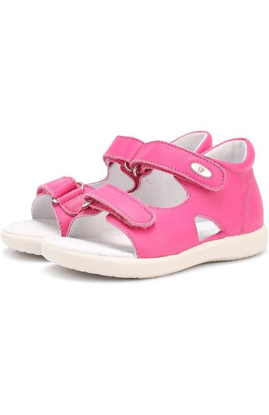 Кожаные сандалии с застежками велькро Falcotto 0011500594/01