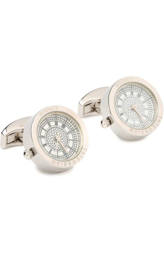 Запонки-часы Tateossian CL2787