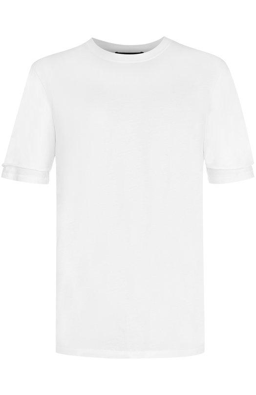 Хлопковая футболка с круглым вырезом 3.1 Phillip Lim S173-15140CYM