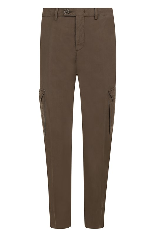 Хлопковые брюки карго Z Zegna VM103ZZ358