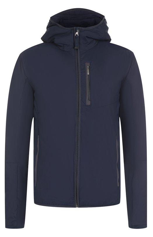 Утепленная куртка на молнии с капюшоном Parajumpers EW03/CARB0N-MAN