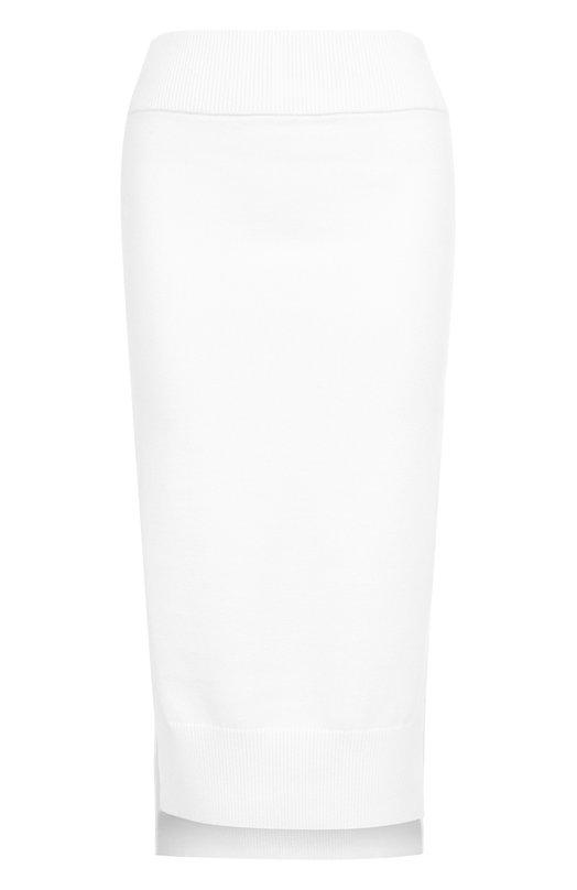 Вязаная юбка-карандаш с разрезами DKNY P07069X