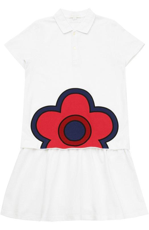 Платье джерси с принтом Burberry 4042524