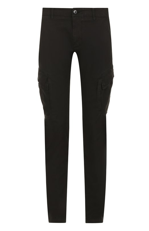 Хлопковые брюки карго Stone Island 66153EZ02