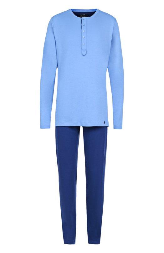 Хлопковая пижама с брюками Hanro
