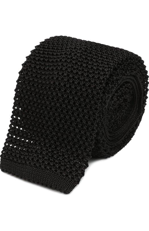 Шелковый вязаный галстук Pal Zileri 94915/300/C13