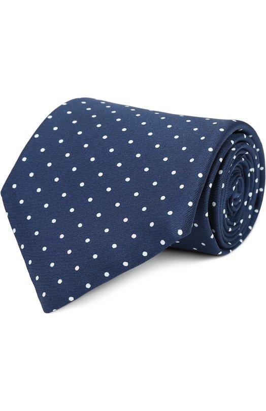 Шелковый галстук с узором Polka Dot Pal Zileri 94920/300/C11