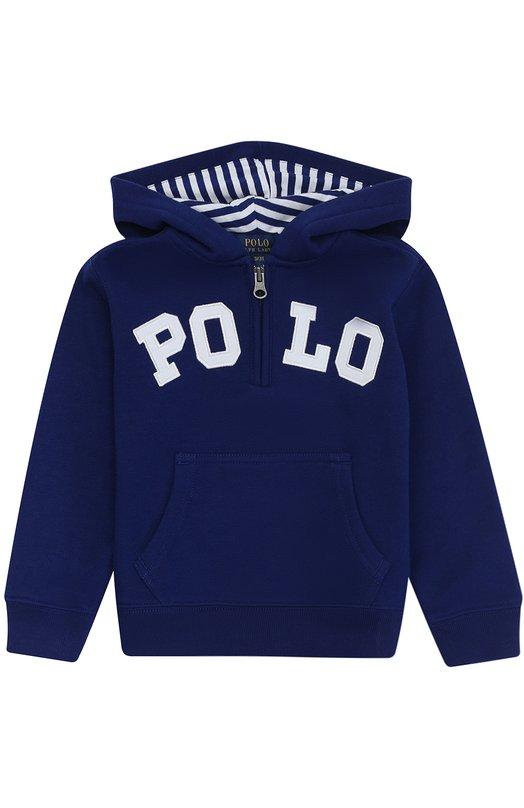 Толстовка из хлопка с логотипом бренда Polo Ralph Lauren B10/XZ751/XY751