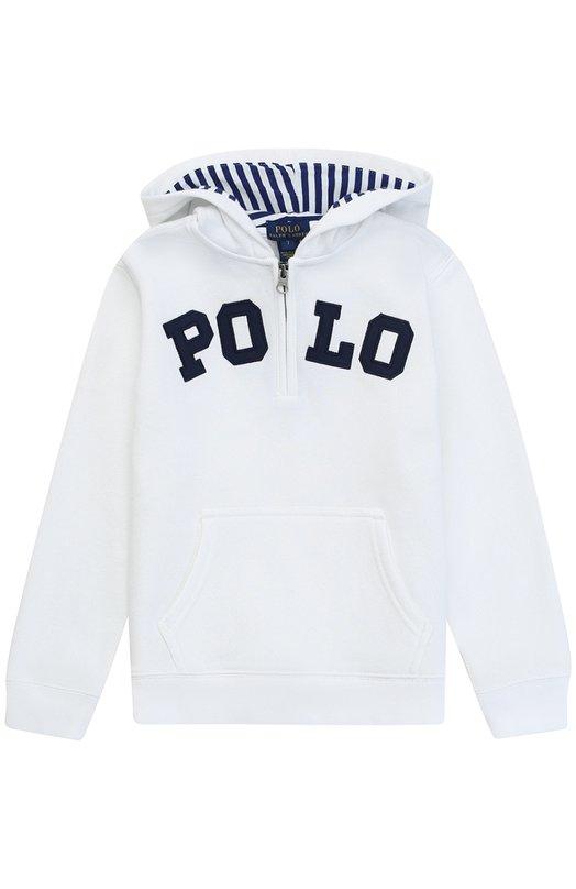 Толстовка из хлопка с логотипом бренда Polo Ralph Lauren K10/XZ751/XY751
