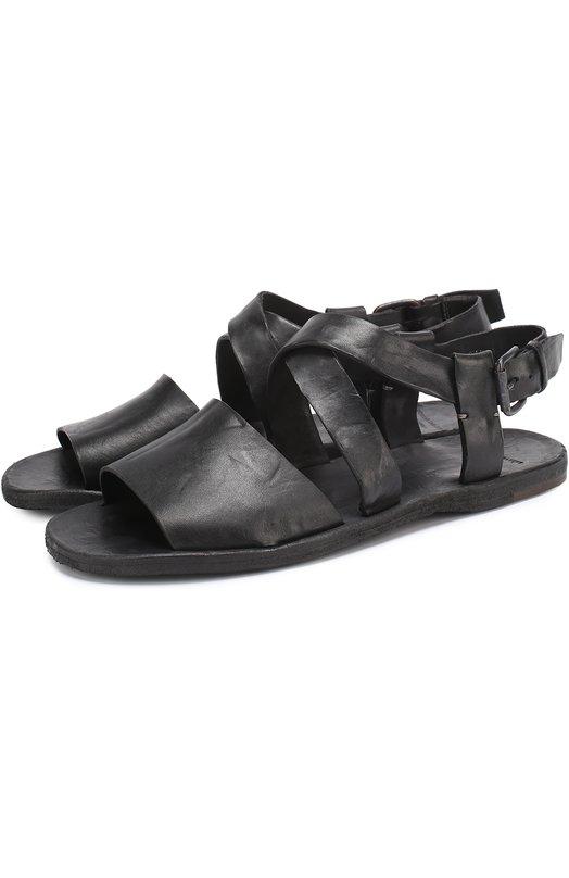 Кожаные сандалии на плоской подошве Officine Creative KIM0L0S/012/CULATTA