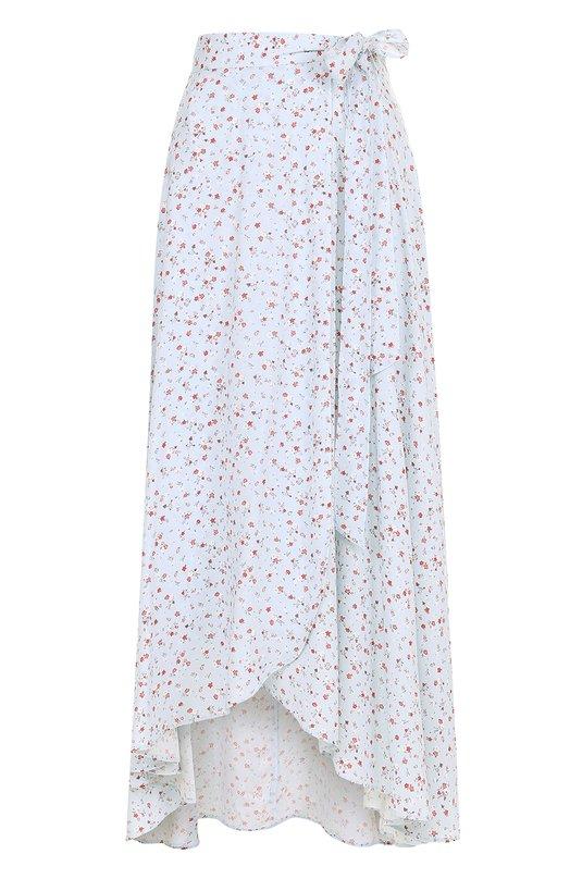 Юбка асимметричного кроя с цветочным принтом Denim&Supply by Ralph Lauren 288641388