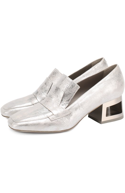 Туфли из металлизированной кожи на фигурном каблуке Vic Matie 1Q5202D.Q46CQ2B